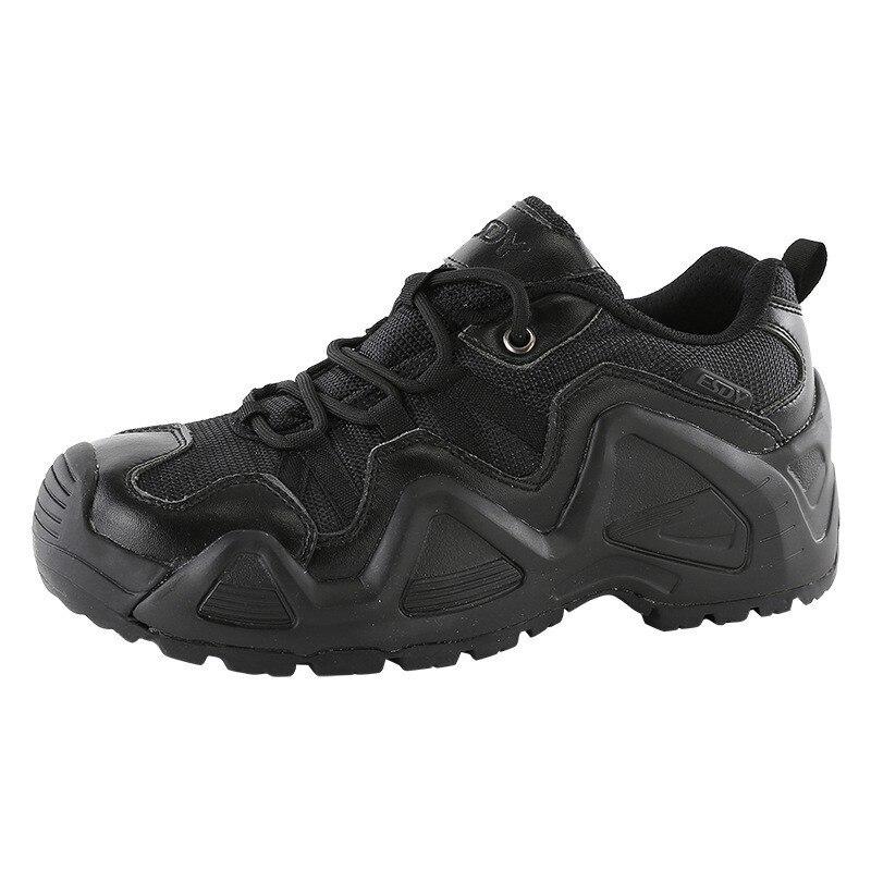 Formation militaire bottes tactiques hommes voyage en plein air désert randonnée escalade ultraléger respirant cuir maille tissu armée chaussures