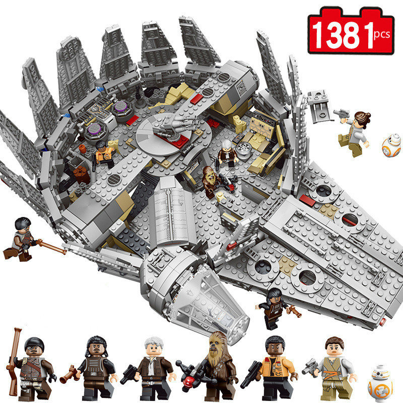 Star sars Figures Wars Model Building Blocks Harmless Bricks Enlighten Compatible  Starwars Toy