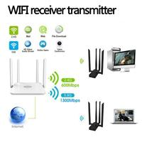 EDUP EP AC1621 1900M Dual band Wireless Adapter USB Wifi Network Card Receiver Daily, Work Place 1900Mbps