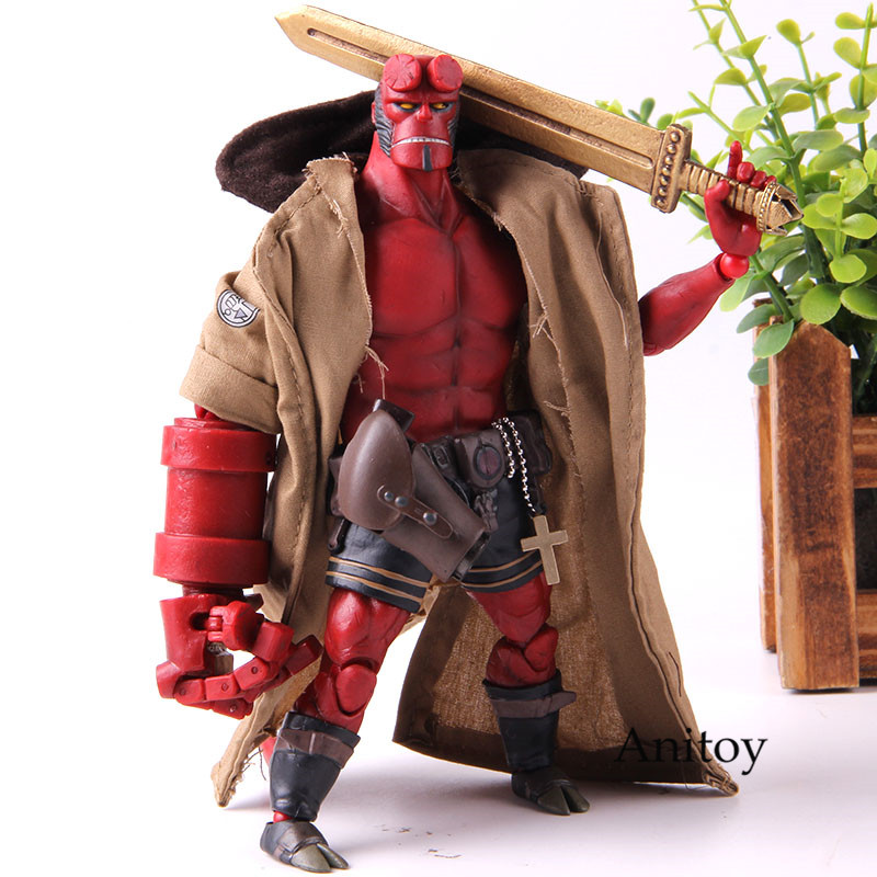Dark Horse Comics Hellboy Movie Figurine 1/2 Scale Figure Hellboy 1000 Toys Action Figure Collection Model ToyDark Horse Comics Hellboy Movie Figurine 1/2 Scale Figure Hellboy 1000 Toys Action Figure Collection Model Toy