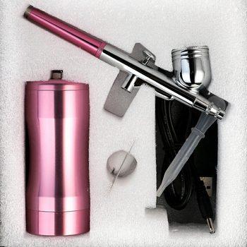 Portable Airbrush Kit Handheld Beauty Spray Gun Special Compressor HVLP Suit Air Brush Compressor 0.3mm Needle Art Tool