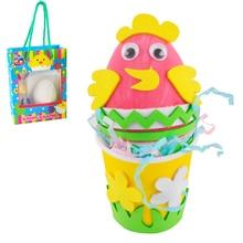 Multi-Purpose DIY Craft Kit Easter Egg Decorating Handmade Material Package For Children