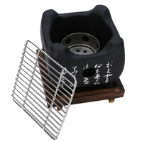 S/M/L Portable BBQ Grill Food Carbon Furnace Barbecue Stove Cooking Oven Alcohol Grill Household Barbecue Accessories