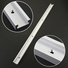 1Pc Miter Track T Track Aluminum T-tracks Slot Miter Track Jig Fixture For Router Table Woodworking Tool