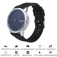 S68 round screen Bluetooth Smart Watch IP68 Waterproof Metal Bracelet Camera Anti lost Motion Smart quartz watch for Android iOS