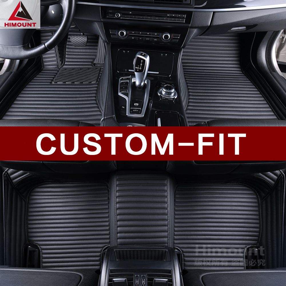 Custom fit car floor mats for Honda CRV CR-V 3D car styling all weather protection high quality full cover carpet rug liners auto floor mats for honda cr v crv 2007 2011 foot carpets step mat high quality brand new embroidery leather mats