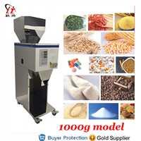 1000g Doser Rice Powder Corn Grain Weighing And Filling Machine Tea Leaf Medicine Seed Salt Packing Bean Filler Free Shipping