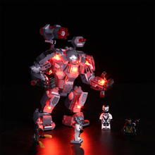 Vonado New LED Light Building Block Accessory Modified Kit for  War Machine 76124 DIY Gift For Kids (LED Included Only)