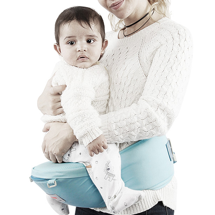 Kidsapro Y0111 Portable Baby Waist Stool Soft Cotton 3D Breathable Mesh Baby Carriers Scratch-Proof Design Baby Carriers 2019