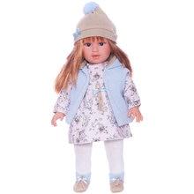 Кукла Llorens Мартина в бело-голубом, 40 см