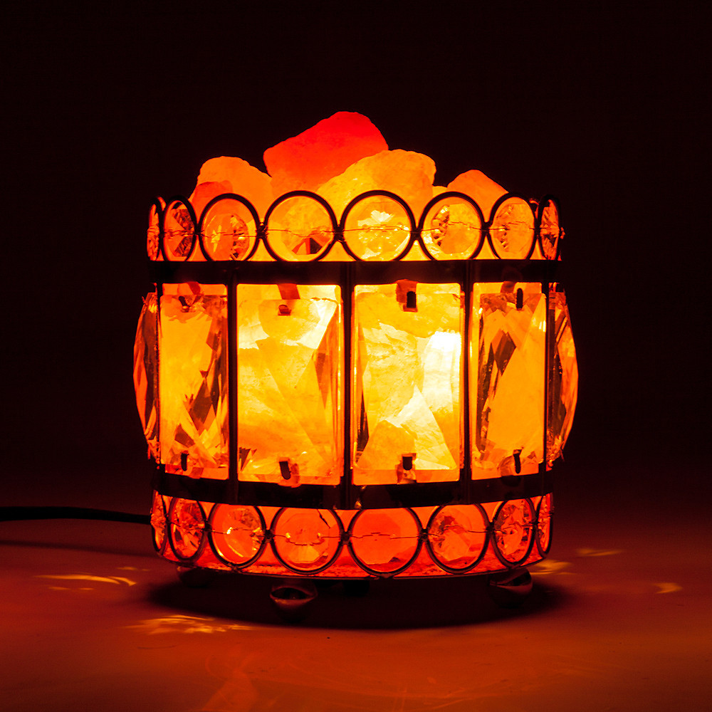 Himalayan Salt Lamp Natural Atural Air Purifier Night Salt Light Table Lava Lamp Dimmer Switch Warm Night Light Bedroom Decor