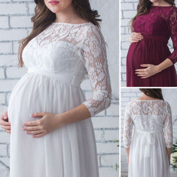Pregnant Mother Dress 1
