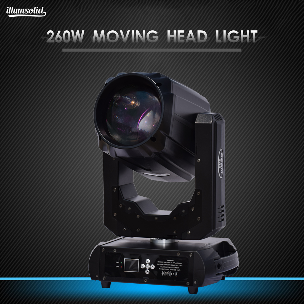 260w RGBW Moving Head Light 10r Beam Spot Wash Disco Light Dmx512 High Power For DJ Bar Party Show Stage KTV Performance Light
