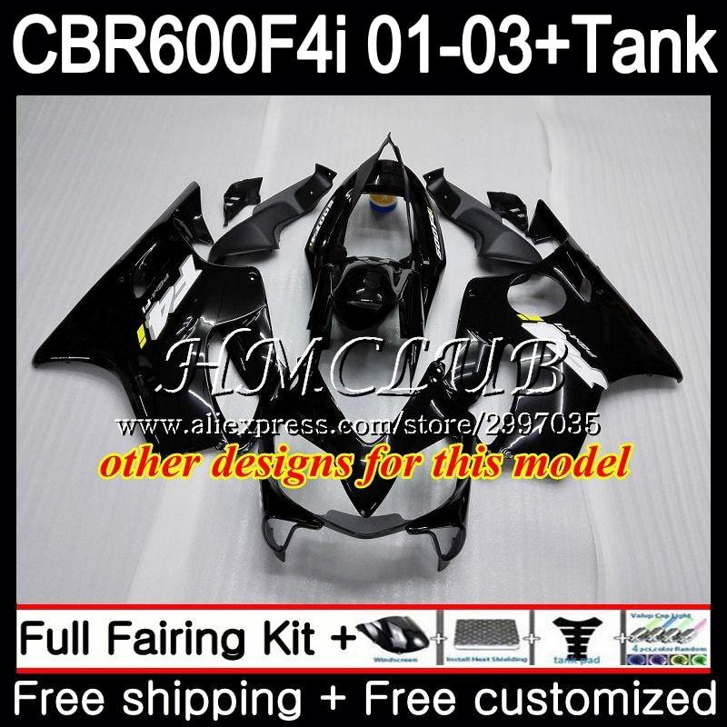 + Tanque Para HONDA Estoque red hot CBR 600 F4i CBR600FS CBR600F4i 2001 2002 2003 77HC. 1 600F4i 600 FS CBR CBR600 F4i 01 02 03 Carenagem - 4