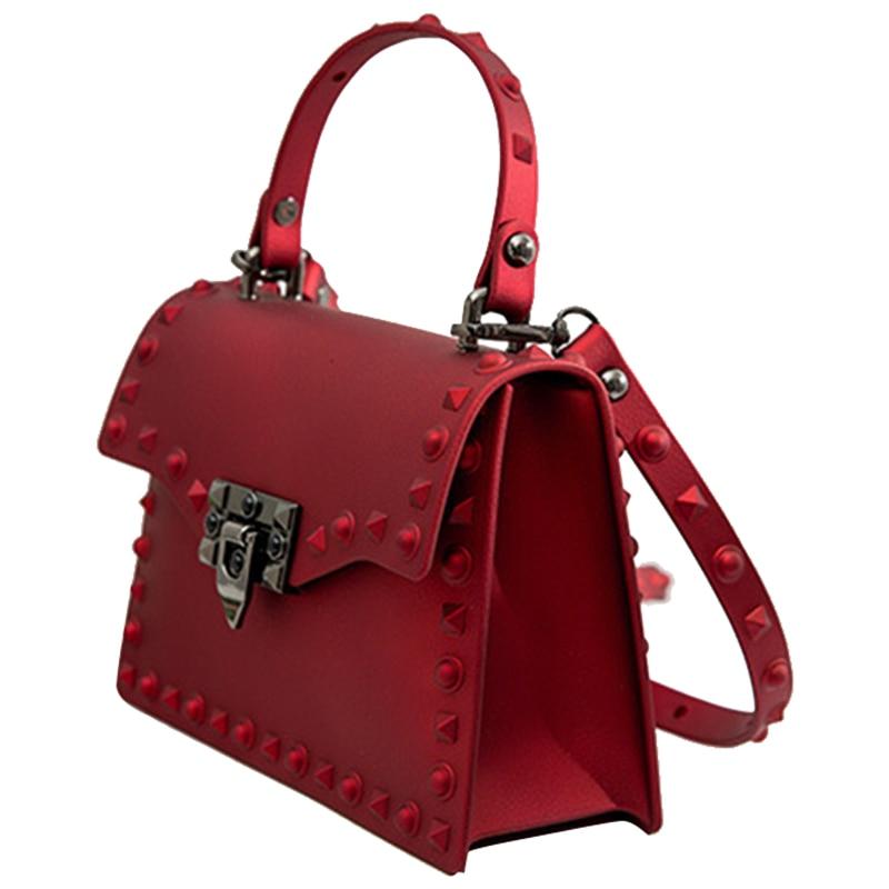 Women Messenger Bags Handbags Women Bags Designer Jelly Bag Fashion Shoulder Bag Women PVC Leather Handbags