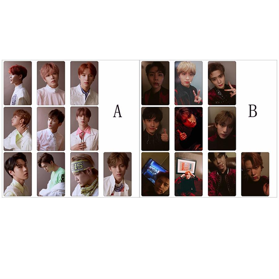 US $3 99 |Kpop NCT 127 Regular Irregular Photo Stikcy Card Crystal Card  Sticker Photograph 10pcs/set-in Jewelry Findings & Components from Jewelry  &