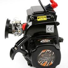 45CC 4 болта двигатель с Walbro 1107 Carb NGK Свеча зажигания для 1/5 Losi 5ive-t км X2 Rovan LT HPI Rofan Baja 5B 5T Rc части двигателя