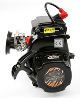 45CC 4 болта двигатель с Walbro 1107 Carb NGK Spark Plug для 1/5 Losi 5ive t KM X2 Rovan LT HPI Rofan Baja 5B 5t RC двигателя Запчасти