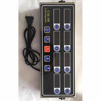 Portable Stopwatch LCD Display 8 Channel 2W Kitchen, etc Digital Timer AC 220V 50/60 Hz Home Kitchen CAL 8B