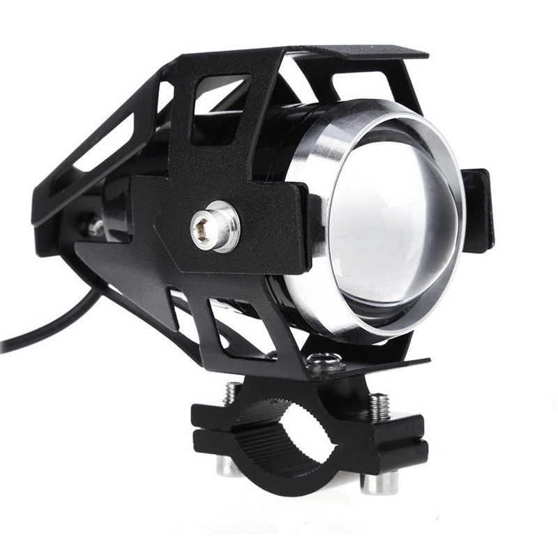 Новый 125 W 2800LM 6000 k-7000 k мотоциклетные фары светодиодные лампы фар Алюминий высокой мощности U5 светодиодный & amp переключатель