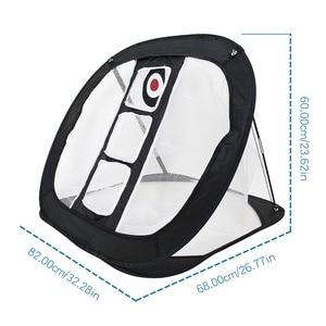 Image 4 - FSTE нейлоновая сетка для гольфа, портативная сетка для гольфа