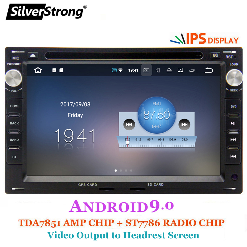 SilverStrong Android9 0 IPS Panel Car 2Din DVD For VW PASSAT B5 Android B4  Golf4 MK4 Polo BORA 2004 OCTAVIA1 WiFi OBD
