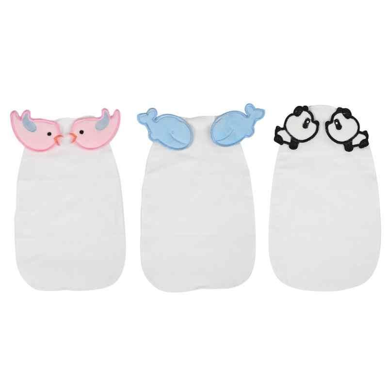 Baby Soft Breathable Sweat Towels Boys Girls Cute Newborn Cotton Bath Towel Infant Cartoon Hooded Towel Absorbing