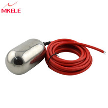 цена на Liquid Level Controller  Length 5 Meters Stainless Steel Cable Float Switch AC250V/5A MK-CFS01 High Quality Durable