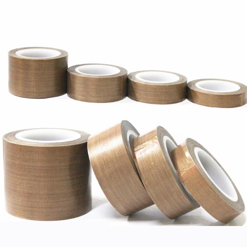 0,18mm Teflon Beständig Hohe Temperatur Klebstoff Tuch Isolierung 300 Grad Vakuum Abdichtung Maschine Teflon Band