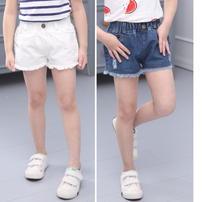 Summer Denim Girls Short Teenage Girl Pants Kids Shorts Children Clothes Jean Girls Shorts Fille Baby Girl Short Pant 1