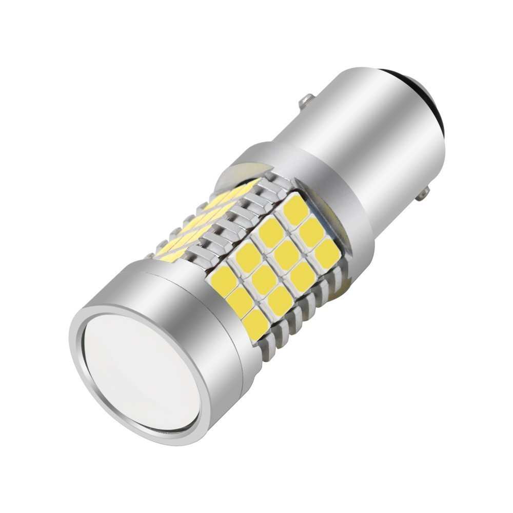 1 Piece 1156 1157 3156 3157 7440 7443 BAY15D 54 SMD 2835 LED Wedge Car Turn Led Signal Lamp Light Reverse Parking Lamp Bulb in Signal Lamp from Automobiles Motorcycles