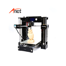 Factory Directly Sell High Speed Anet A8/A6 3d Printer High Precision Diy 3D Printer Metal Kit with Free SD Card,Filament,Tools