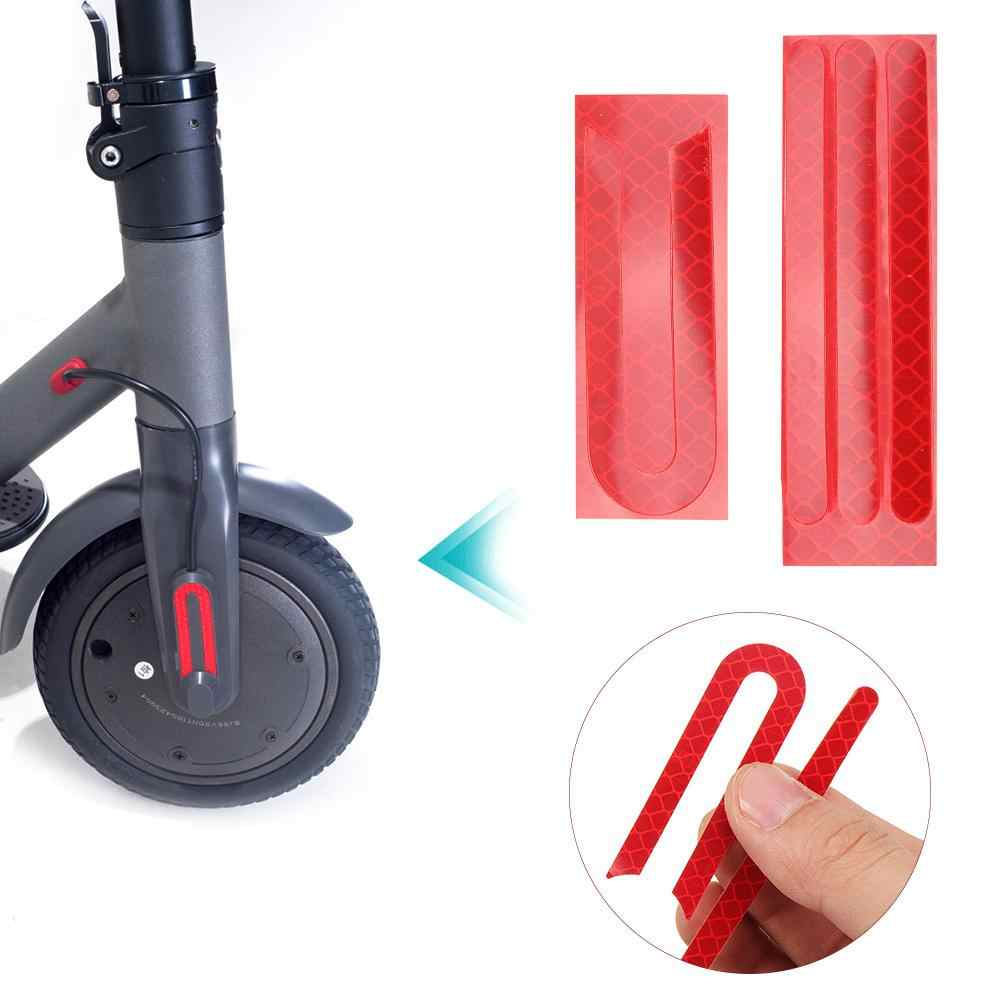 E-Scooter Front & Rear Wheel Rubber Sticker for Xiaomi Mijia M365  Electric scooter Accessories