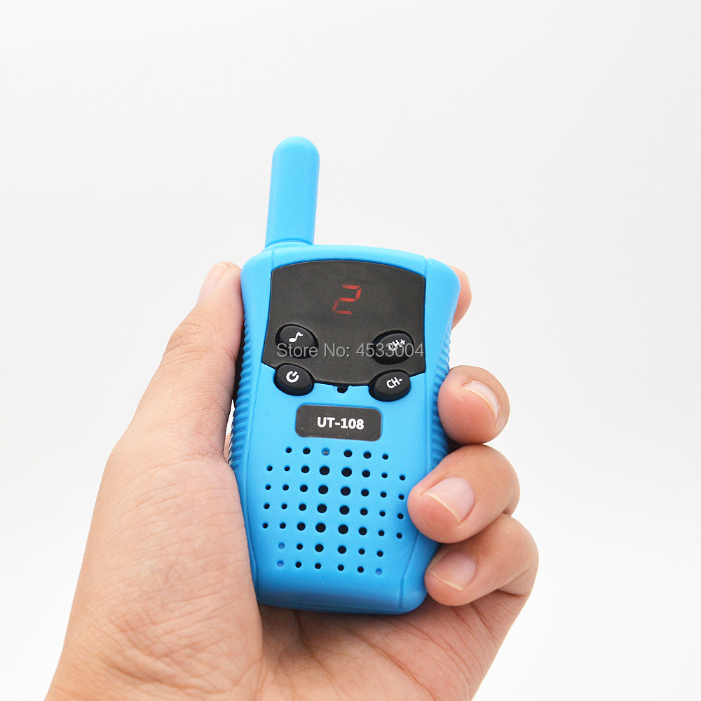 Image 2 - 2pcs GoodTalkie UT108 Mini Walkie Talkie Kids Toy Two Way Radio UHF Frequency Portable Ham Radio-in Walkie Talkie from Cellphones & Telecommunications