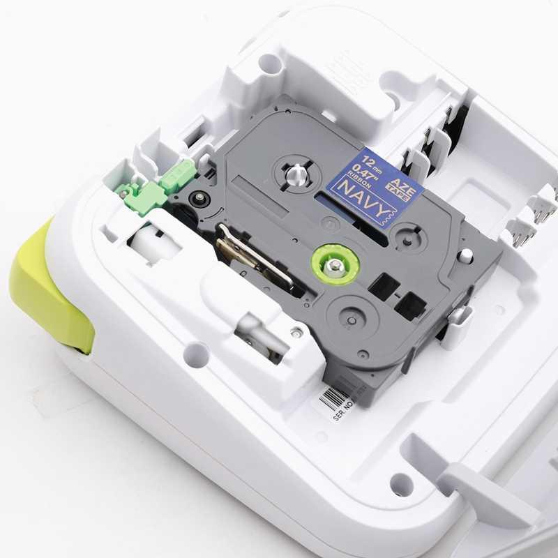 Unistar 5pcs Tze รูปแบบเทป Brother P-Touch เครื่องพิมพ์ริบบิ้น 12mm x 4 M Tze เทป TZe-MPVA31 TZe231