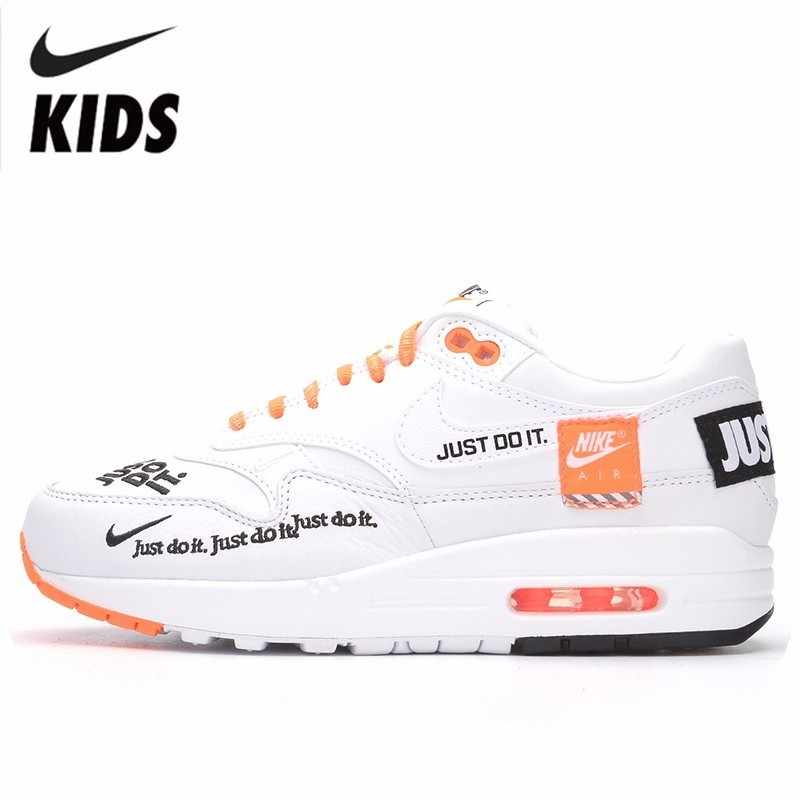 Nike Just do it Nike New Arrival Boy And Girl Shoes New Pattern Air Cushion Running  Sneakers Casual Shoes #