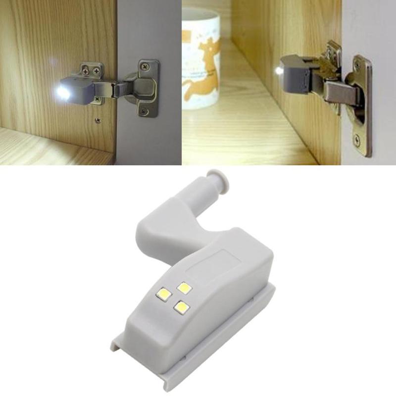 Back To Search Resultsfurniture 10 Pcs Inner Hinge Led Under Cabinet Light Universal Wardrobe Light Sensor Inner Hinge Lamp For Cupboard Closet Kitchen 1 Set