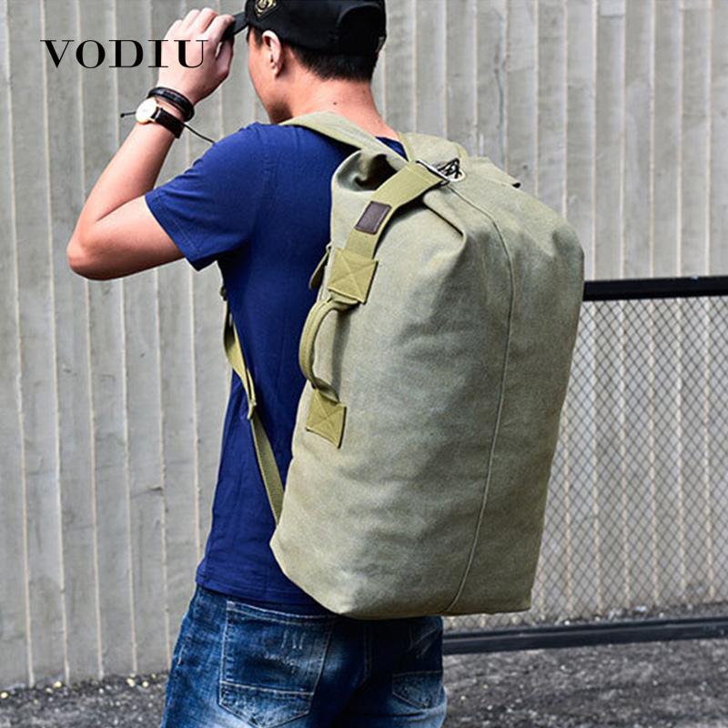 Large Travel Bag Canvas Backpack Male Large Rucksack For Male Sac A Dos Mochila Anti Theft Backpack Luggage Bag
