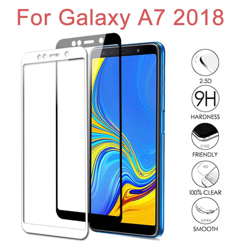 Tempered <font><b>Glass</b></font> For <font><b>Samsung</b></font> Galaxy A7 2018 SM-A750 A750F A750FN Screen Protector For Samung A7 2018 <font><b>A</b></font> <font><b>7</b></font> 7A Protective Film Cover image