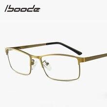 db75d43035 Iboode Anti rayos azules de las mujeres de los hombres la computadora gafas  Unisex de la presbicia Gafas de Metal de moda gafas .