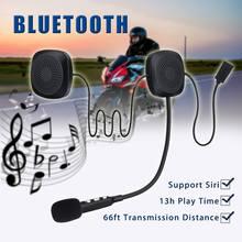 Audew 50 M Anti-interferenza bluetooth V4.2 Senza Fili del Casco Del Motociclo Auricolare Con Funzione bluetooth Mani Citofono Libero