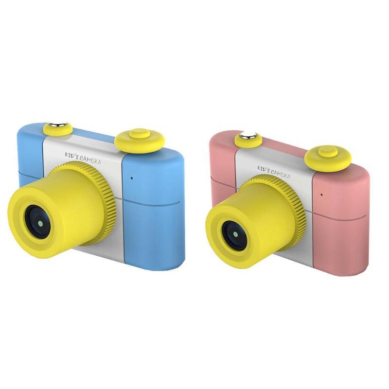 1.5 pouces Mini Enfants appareil photo numérique HD 1080 P Enfants Bande Dessinée enregistreur vidéo w/lecteur de cartes pour Enfants cadeau d'anniversaire Jouet Caméra