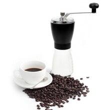 Кофейная посуда ручная кофемолка АБС керамический сердечник стальной ручной кофемолка кофейная зерновая мельница домашний кухонный инструмент