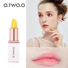 O.TWO.O Moisturizer Lipstick Temperature Changed Color Lip Balm Beauty