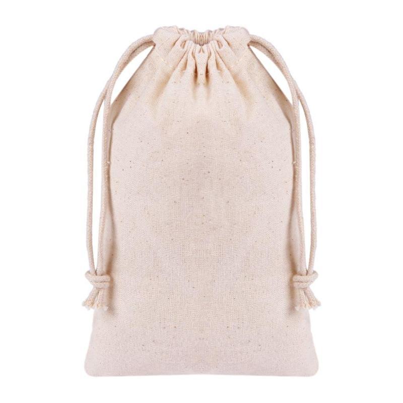 1Pc Makeup Brush Storage Bag Linen Travel Cosmetics Organizer Foundation Powder Brush Holder Bag Practical Beauty Accessory