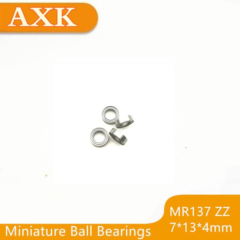 695RS 25PCS Double Metal Rubber Sealed Ball Bearing Orange 5x13x4mm