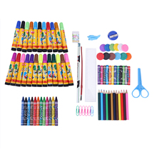 86pieces children's painting tools, painting supplies, children's intellectual development, painting toys