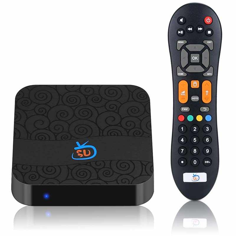 2019 new arrival TV BOX GOTV live+vod+playback+adult youporn brazil chile  latin america IPTV