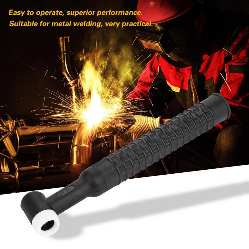Home Sonderabschnitt Gas-gekühlt Schweißen Taschenlampe Kopf Körper Für Metall Schweißen Sr-26 Wp-26 Starke Verpackung