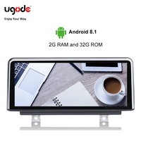 Ugode fast PX6 Android 9.0 Car Multimedia GPS Navi Player for BMW 1 2 Series F20 F22 2013 2017 LHD stable system plug and play